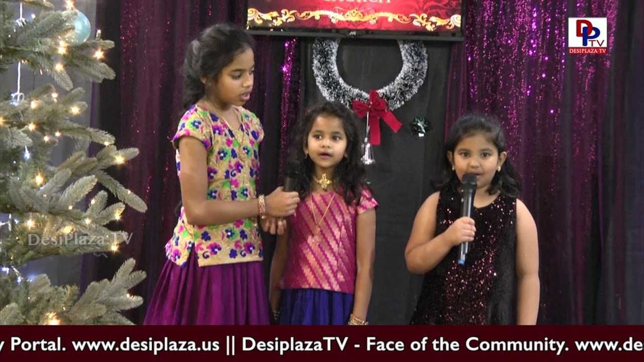 Irving Telugu community Church Christmas Celebration in Dallas at Desiplaza Tv Studios