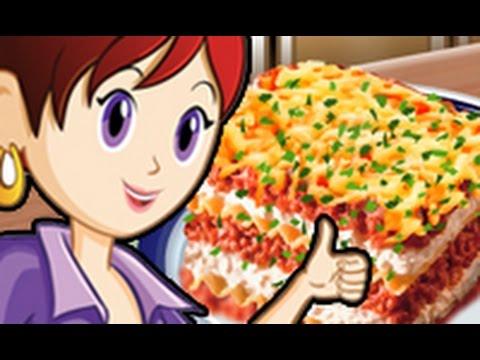 Ecole de cuisine de sara lasagnes youtube - Girlsgogames ecole de cuisine de sara ...