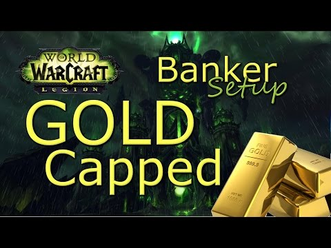WoW GOLD Guide: Banker Toon Setup