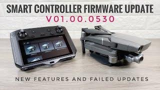 DJI Smart Controller HUGE Firmware Update | Failed Updates & New Features