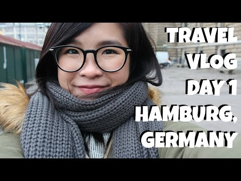 [Travel Vlog旅游日记]Hamburg Germany 德国汉堡 Day 1