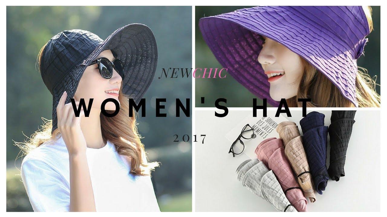 Summer Foldable hats for men   women e657de6692