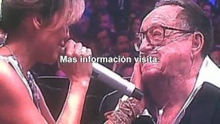 Emilio Azcárraga, Thalía y Juan Gabriel ante Roberto Gómez Bolaños