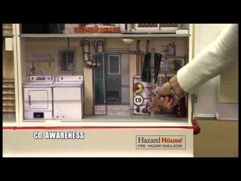 Model tech hazard house