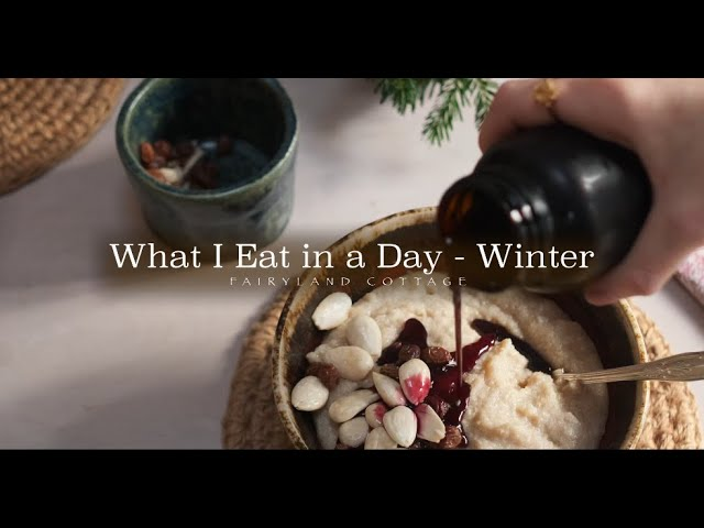 What I Eat in a Day - Winter - Plant Based