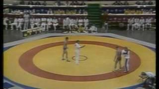 Золотой бросок Мамиашвили Михаила на ОИ-1988