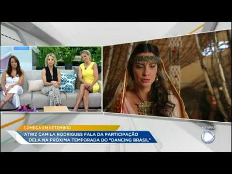 Camila Rodrigues fala sobre sua participação no Dancing Brasil