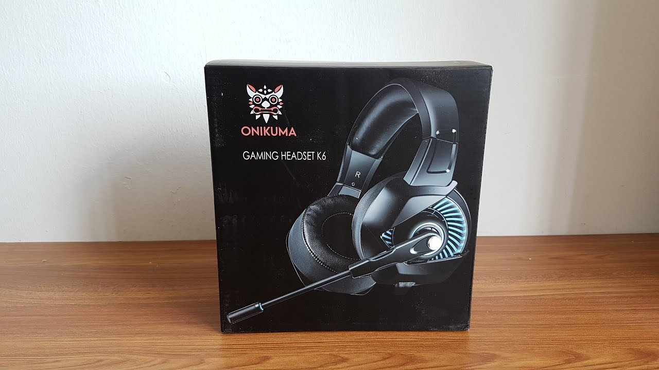 Onikuma K6 Gaming Headset Review & Unboxing [HD]