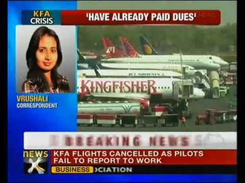Kingfisher Pilots On Strike, Several Flights Cancelled - NewsX