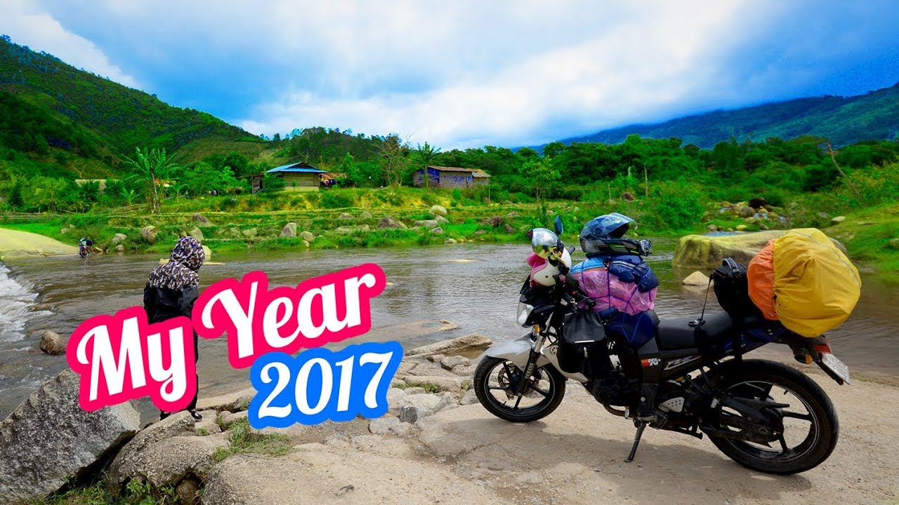 MY YEAR 2017 | 1 NĂM NHÌN LẠI ANYWHERE MAN | Vietnam motovlog