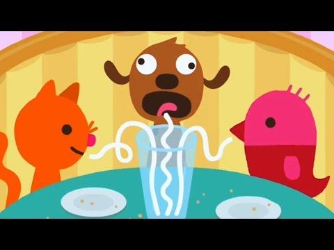 Sago Mini Pet Cafe | Кафе для питомцев - Развивающий мультик (ИГРА) | Childrens cartoon game
