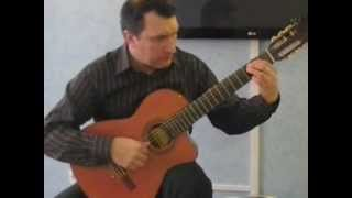 Финская полька на гитаре, levan polkka cover