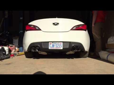 2013 Genesis 2.0T Stock vs CNT Catback Exhaust