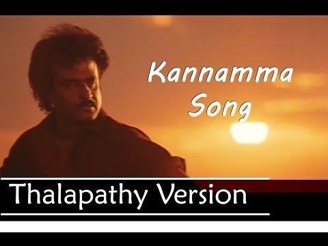 kannamma Song thalapathy Version| Kaala | Rajinikanth | santhosh narayanan