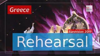 Katerine Duska - Better Love - Eurovision 2019 Greece (Rehearsal)