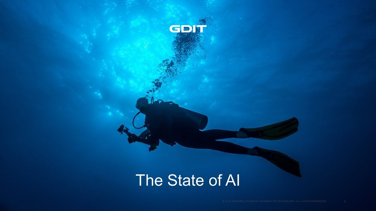 GDIT's Chris Barnett, discusses the state of Artificial Intelligence