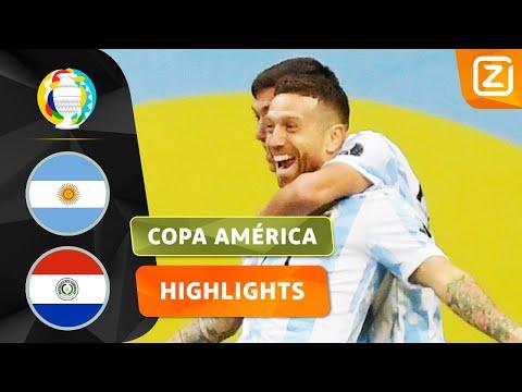 WAT EEN LEKKERE ASSIST 🤤   Argentinië vs Paraguay   Copa América 2021   Samenvatting - Видео онлайн