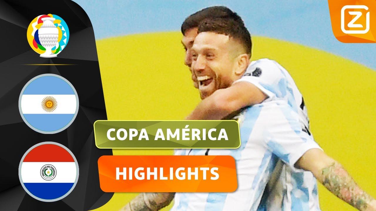 WAT EEN LEKKERE ASSIST 🤤 | Argentinië vs Paraguay | Copa América 2021 | Samenvatting