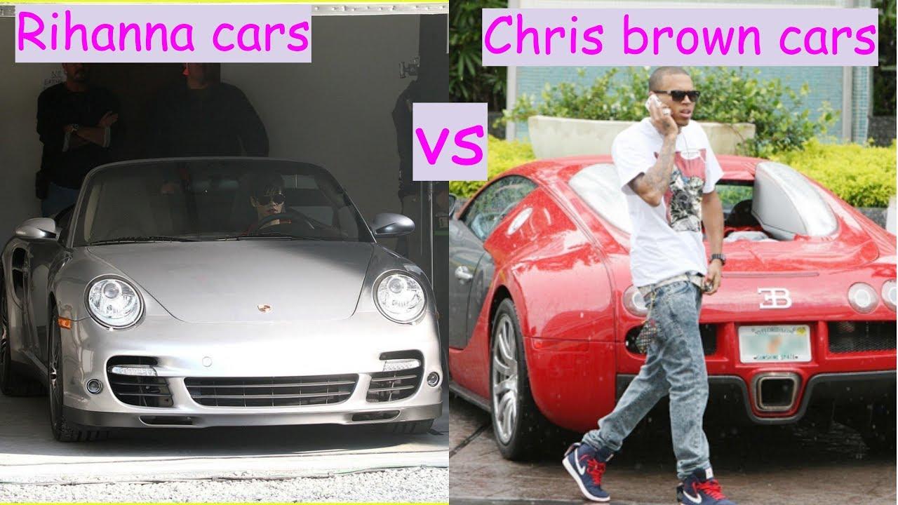 Chris Brown Cars: Rihanna Cars Vs Chris Brown Cars (2018)