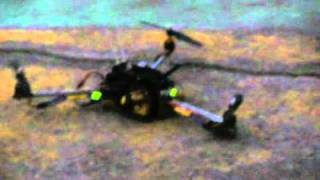 3D ROTOR PLANE , 3-IDIOT PLANE WITH VIDEO TRANSMISSION BY STROBOTIX CHANDIGARH.mpg