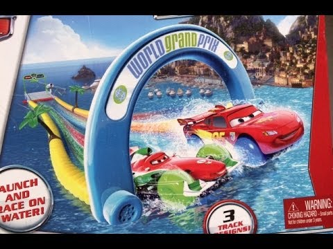Disney Pixar Cars Lightning Mcqueen In Swimming In Pool In A Water Day Youtube