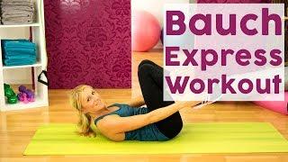 Für alle Eiligen: Das schnelle Bauch Express-Workout