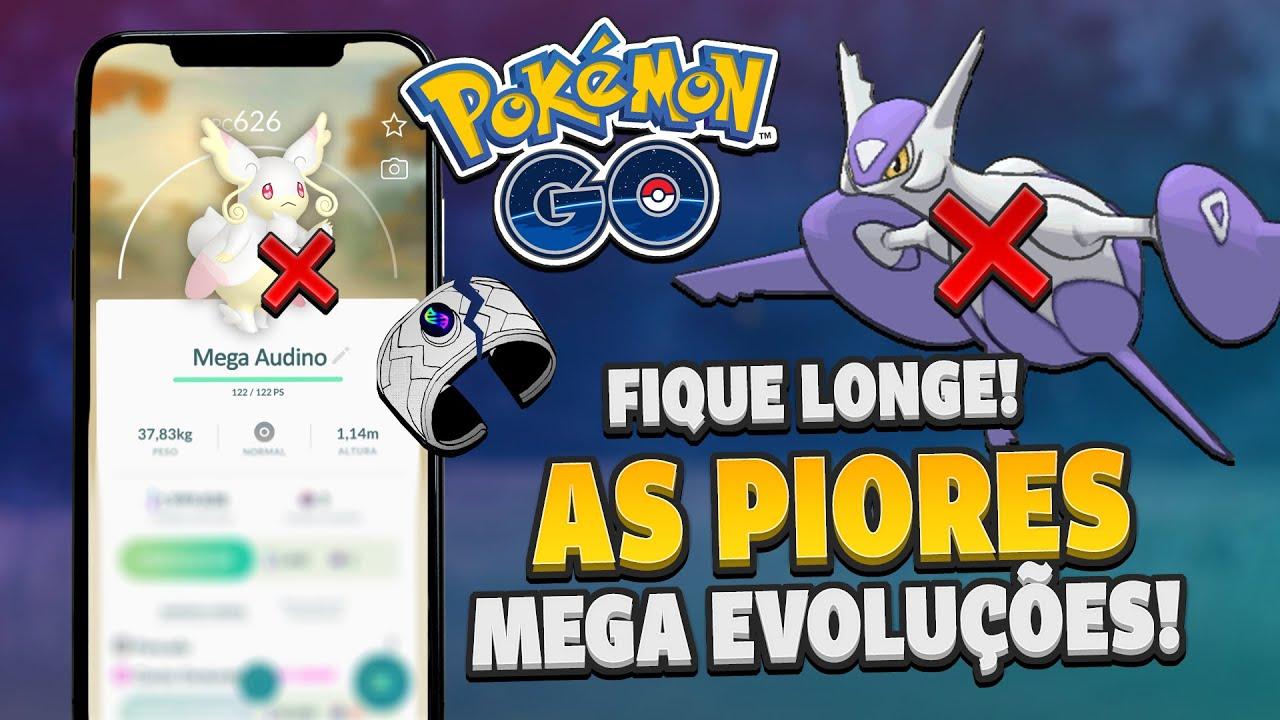 Não invista nesses Pokémon: as PIORES Mega Evoluções do jogo! | Pokémon GO