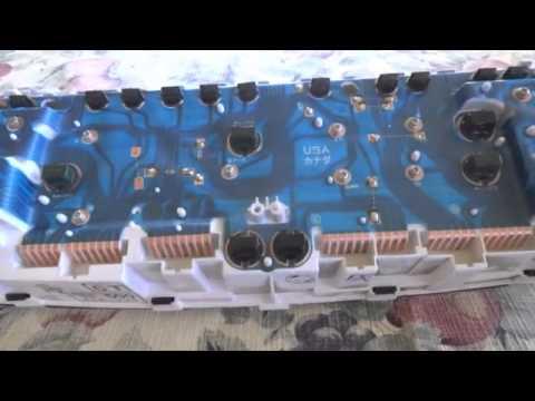 1992 toyota hilux surf wiring diagram coleman evcon eb17b pickup dash youtube