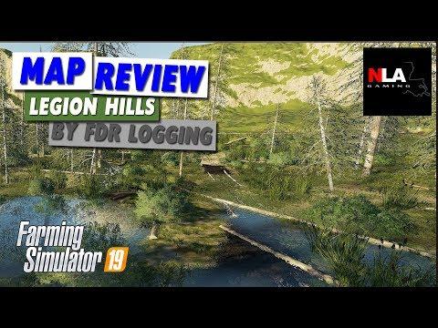 Farming Simulator 19 - Map Review - Legion Hills