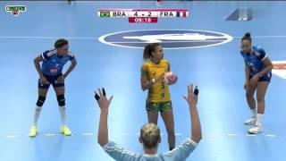 BRÉSIL VS FRANCE Handball Championnat du monde féminin 2015 Tour préliminaire