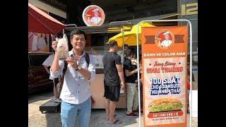Bánh mì Color Man 1 ngàn 1 ổ, lỗ vẫn bán vì người nghèo!!!
