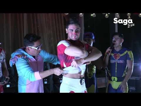 Pepe y Teo desnudan a los Wapayasos durante el MaratónSaga