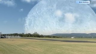 What The Moon Would Look Like Closer To Earth
