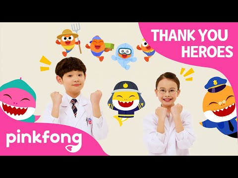 Thank You Heroes   Health Care Workers   Frontliners   Thank You Song   Pinkfong Songs for Children