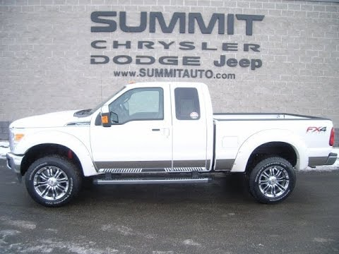SOLD! 8889 2015 FORD F250 SUPERCAB SHORT LARIAT 6.2L GAS 4.30 GEARS WALK AROUND REVIEW WISCONSIN