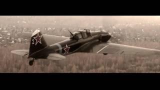 Единственный летающий восстановленный в Новосибирске Ил-2 + 7б - Не герой.