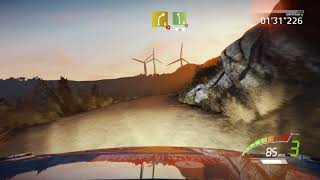 WRC 7 - Rally Italy (Sardinia) - Beautiful stage - Onboard - Gameplay