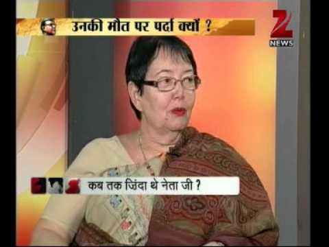 Zee News : Netaji's Daughter speaks on myths surrounding legendary Netaji Subhash Chandra Bose
