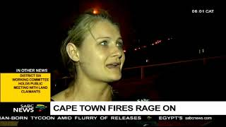 Cape Town fires rage on