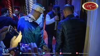 أشرف عبد الباقى وأحمد السقا على خشبة  مسرح مصر