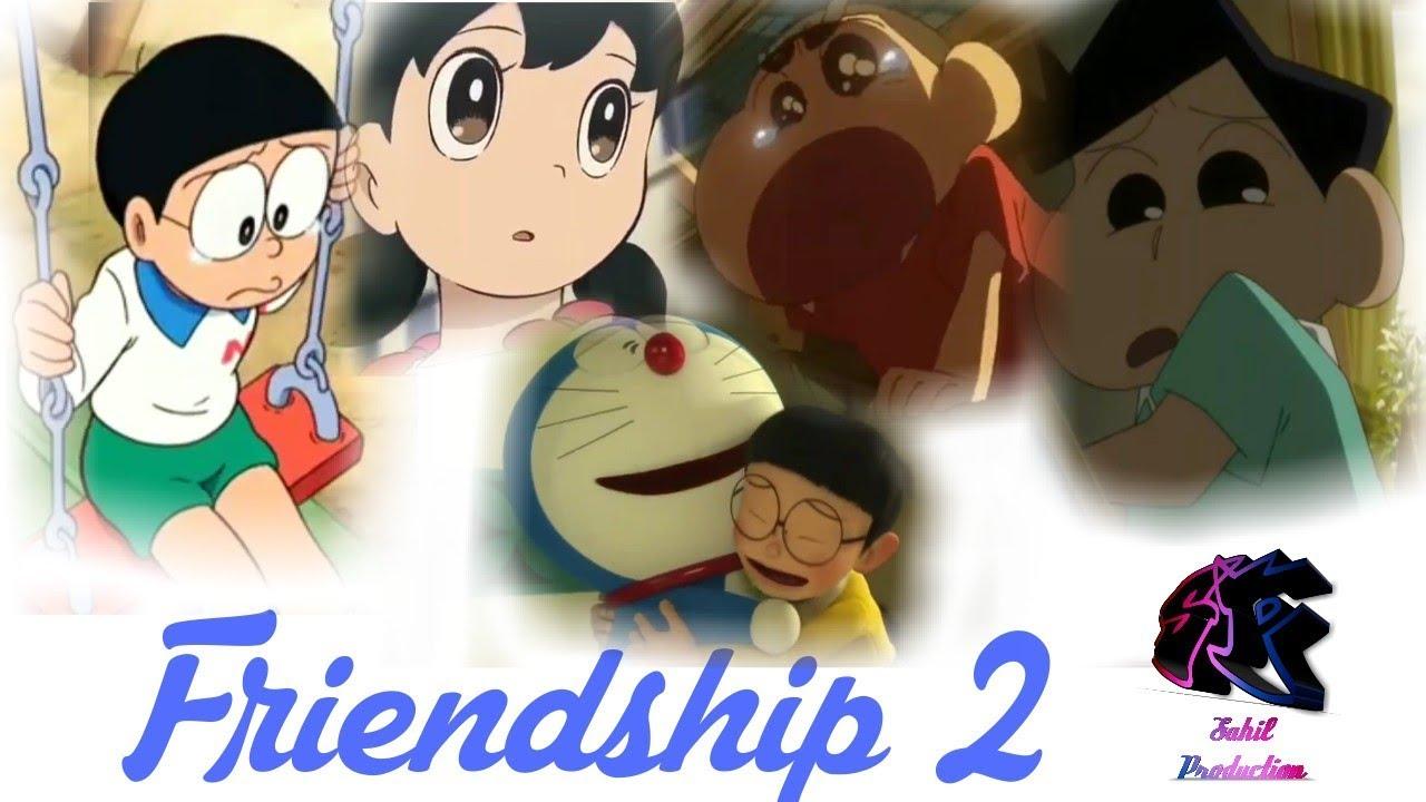 shinchan doremon friendship sad song