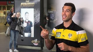 Video AFL's star players surprise Australians with live streaming stunt | JCDecaux Australia download MP3, 3GP, MP4, WEBM, AVI, FLV Desember 2017