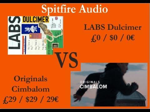 Spitfire Audio LABS Dulcimer VS Originals Cimbalom