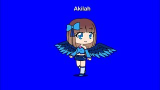 How to make Akilah Plays Roblox's character in Gacha Life