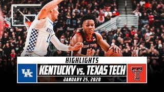 The only big 12/sec challenge game to feature two ranked teams didn't disappoint as kentucky topped texas tech in overtime 76-74. take a look at top play...