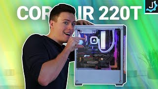 How To Build A PC In The Corsair 220T! - Compact ATX Case