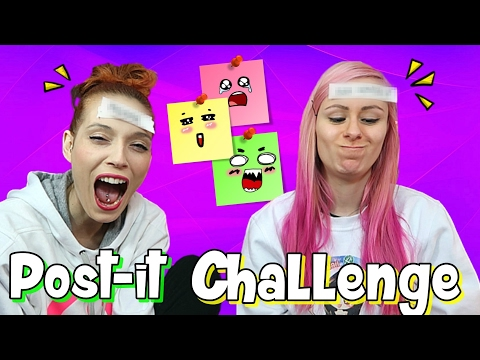 Post it Challenge con Sabri! Divertentissima xD