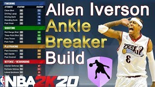 THE BEST 🦶 ANKLE BREAKER 🦴 BUILD IN NBA 2K20! NEVER GET RIPPED AGAIN!