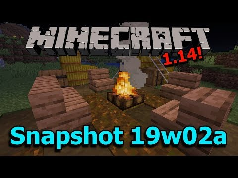 minecraft-1.14-snapshot-19w02a--campfire,-lectern,-cartography-table-functions!