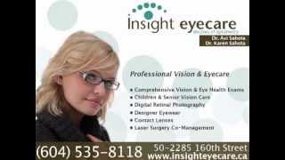 Insight Eyecare   Surrey, BC Optometrist